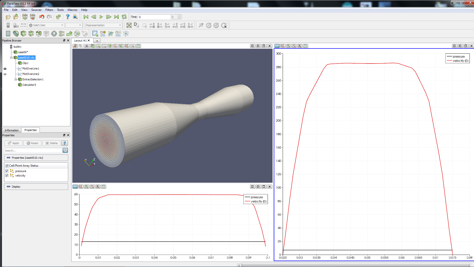 Cfd Flow In A Pipe Basic Air Data
