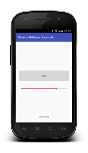 Bluetooth example app