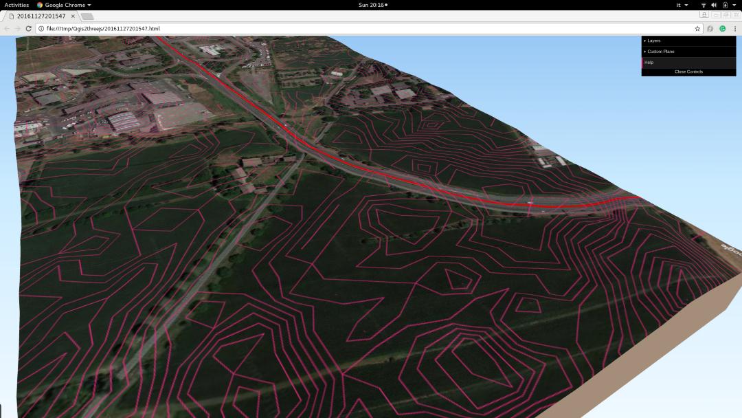 QGIS 3D tutorial – Basic Air Data