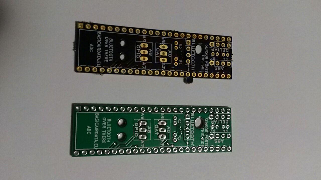 Asgard ADC Custom Printed Circuit Board