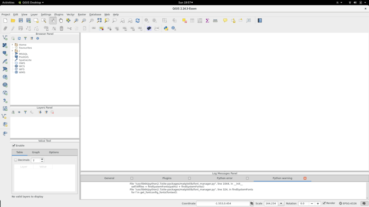 GPSLogger 3D visualization within QGIS - Basic Air Data